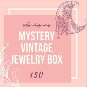 Vintage Jewelry Mystery Box $100 Value Minimum